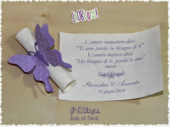 Pergamena Segnaposto Matrimonio.Jhobbyes Creazioni Handmade Grafica Segnaposto In Glicine