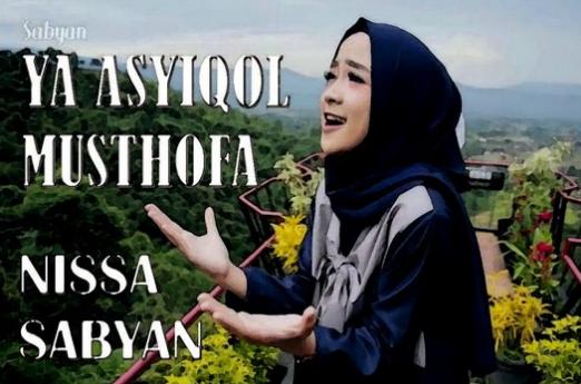 Lirik Lagu Ya Asyiqol Musthofa Nissa Sabyan