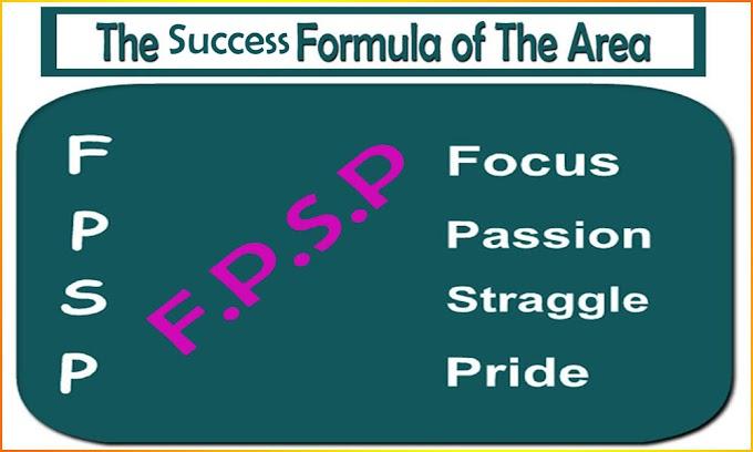 The Success Formula of The Area