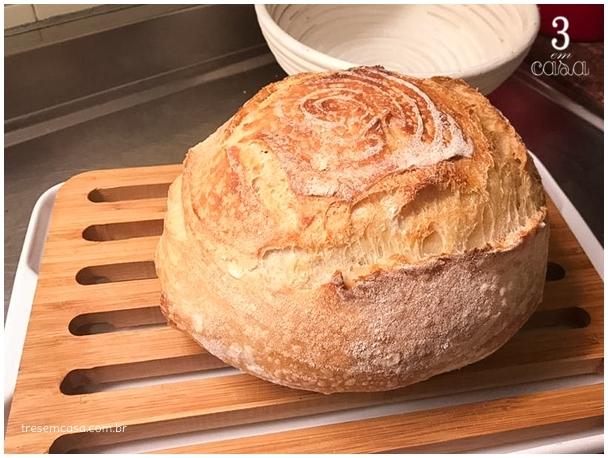 pão de fermentação natural como fazer
