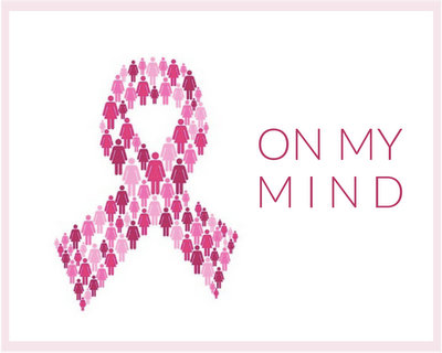 Breast Cancer Awareness, On My Mind ♥ KitchenParade.com
