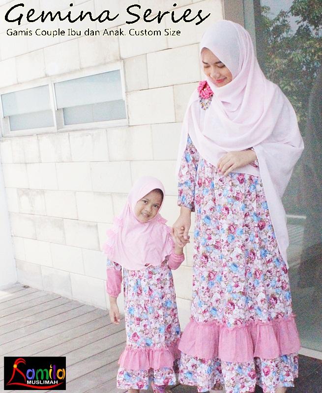 Baju Gamis Couple Ibu Dan Anak 081282008099 Gamis Couple Ibu Dan