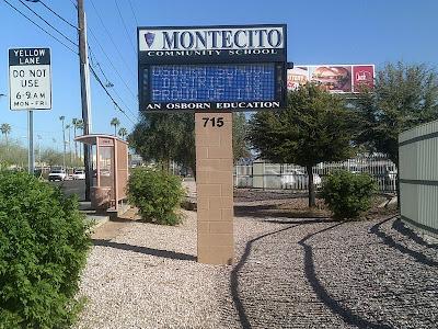 Montecito Community School monument sign