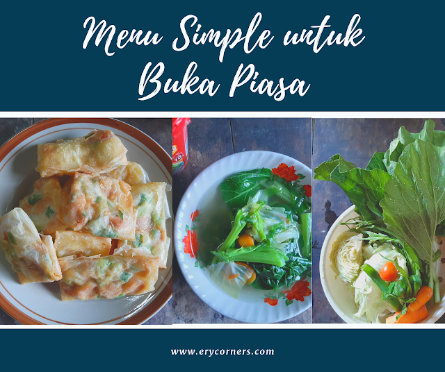 Menu Buka Puasa Simple