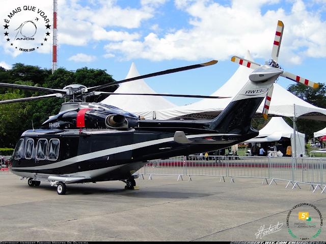 Helicóptero AW-139 completa 20 anos de operações |  | Foto © Herbert Monfre - Fotógrafo de avião - Eventos - Publicidade - Ensaios - Contrate o fotógrafo pelo e-mail cmsherbert@hotmail.com | Imagem produzida por Herbert Pictures - É MAIS QUE VOAR