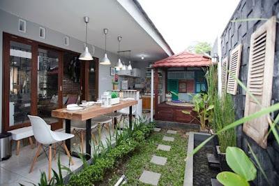 Ide Desain Dapur Outdoor yang Cantik