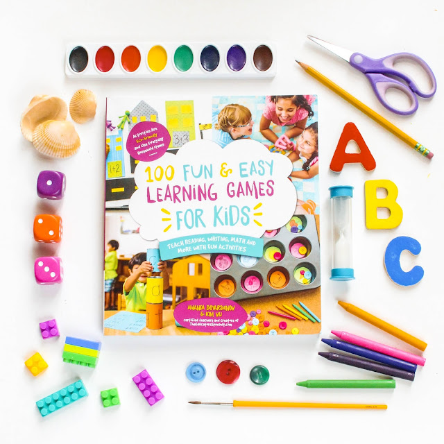 100 Fun and Easy Learning Games For Kids, part of May Reading Roundup