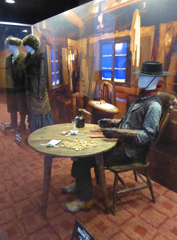 Hateful Eight movie costume exhibit