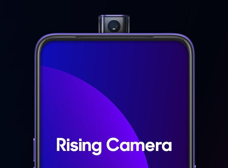 OPPO F11 Pro Rising Camera
