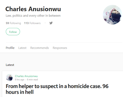 'From helper to suspect in a homicide case. 96 hours in hell' - Student shares experience following Rivers state CJ's son's drowning