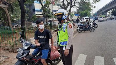 Operasi Patuh Jaya Hari Pertama, 1.763 Kendaraan Ditilang,