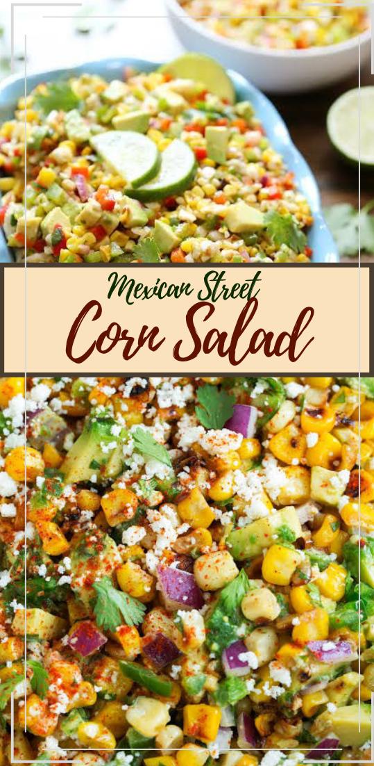 Mexican Street Corn Salad #vegan #vegetarian #soup #breakfast #lunch