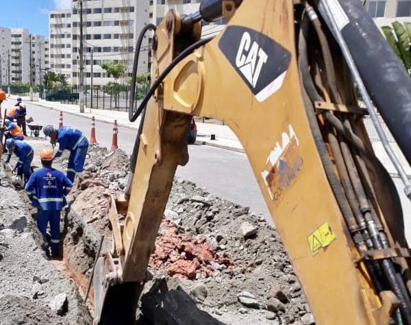Obra da Compensa encerra rodízio de abastecimento na área central de Ipojuca