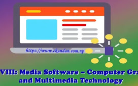 Unit VIII: Media Software – Computer Graphics and Multimedia Technology