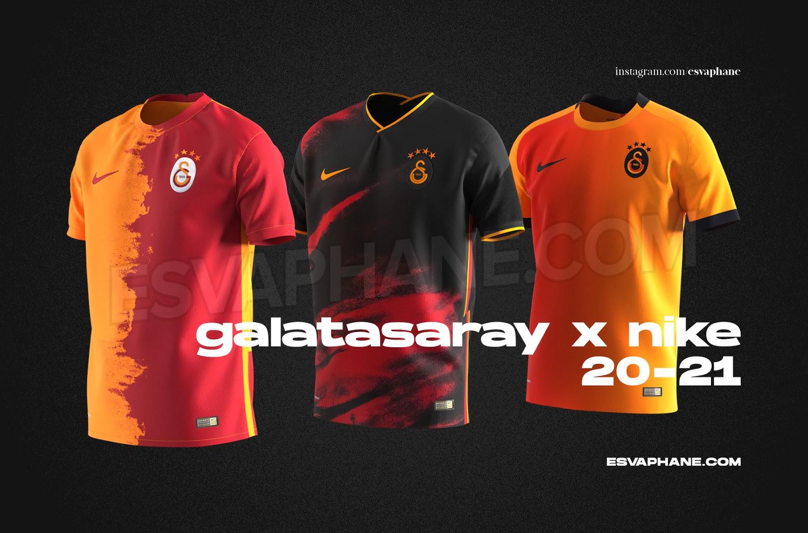 Galatasaray'ın yeni sezon formaları belli oldu..