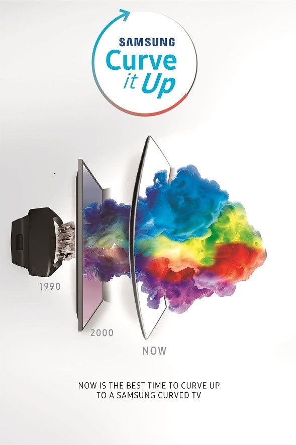 Samsung Curve It Up Promo