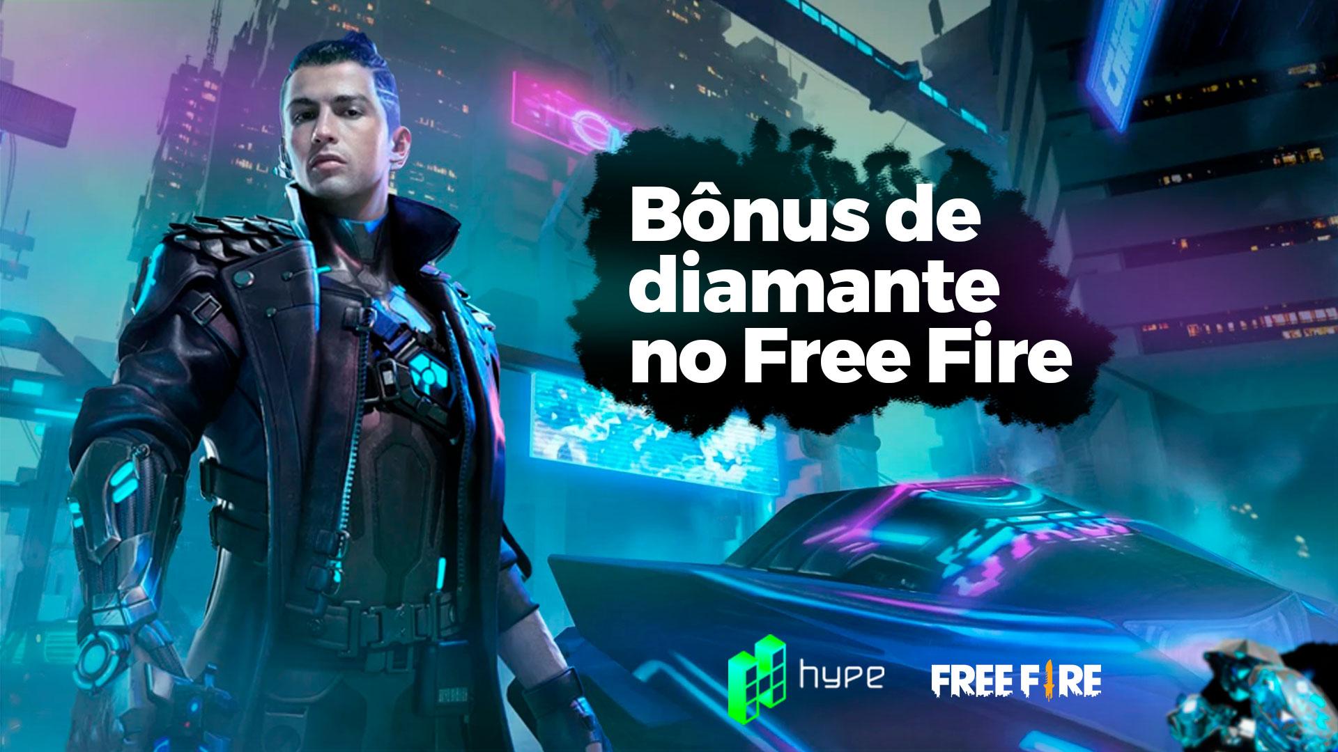 Bônus de Diamante no Free Fire