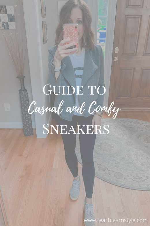 Guide to comfortable and casual sneakers