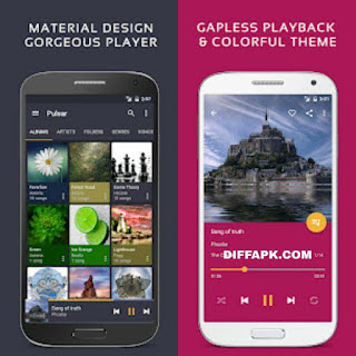 Pulsar Music Player Pro Apk v1.10.1 build 182 [Pro Mod] [Latest]