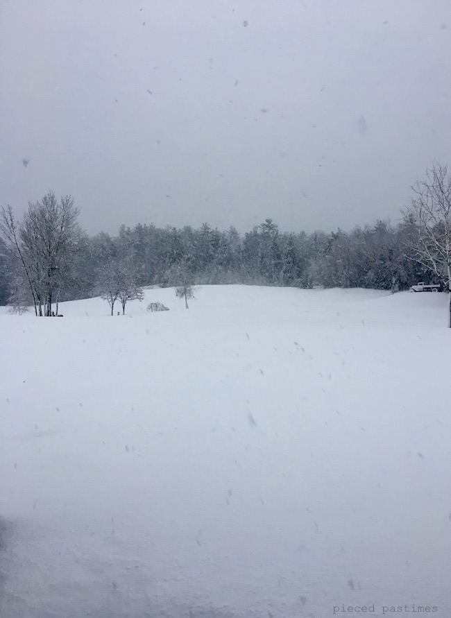 Snowy Field at Pieced Pastimes