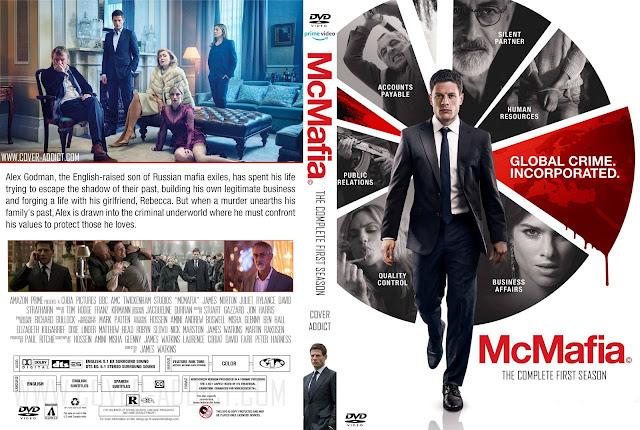 McMafia Season 1 DVD Cover