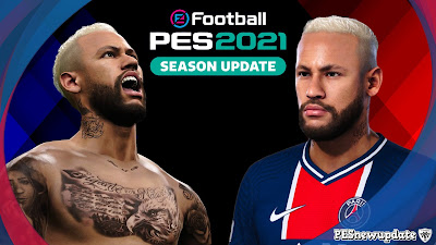 PES 2021 Faces Neymar Jr by SR