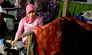 Inilah Pemenang Lomba Desain Motif Batik Kecamatan Gayam 2017