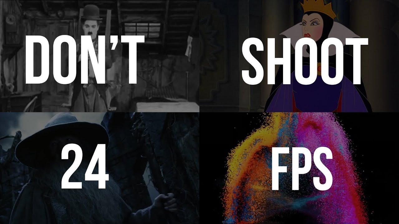 Why You Should NOT Shoot in 24 FPS - Photography Tips & Ideas - ISO ...