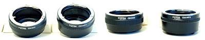 Olympus OM Lens Adapters