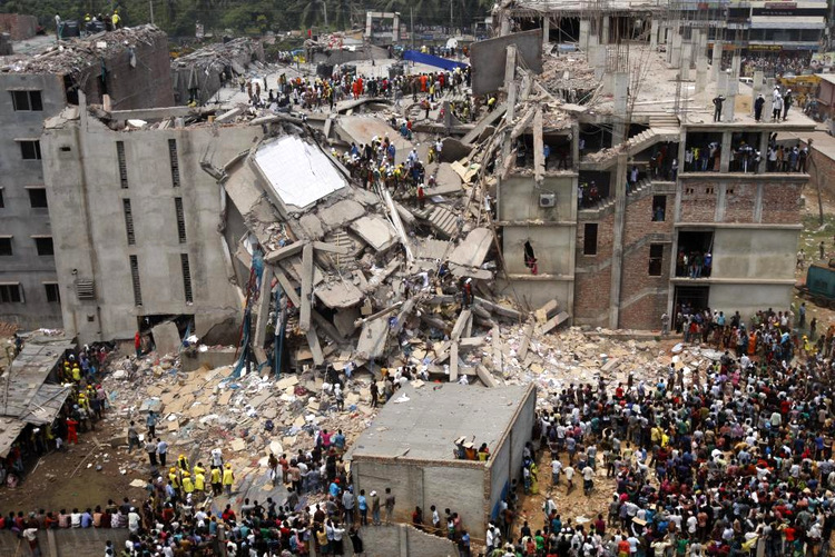 Effondrement du Rana Plaza au Bangladesh, 2013