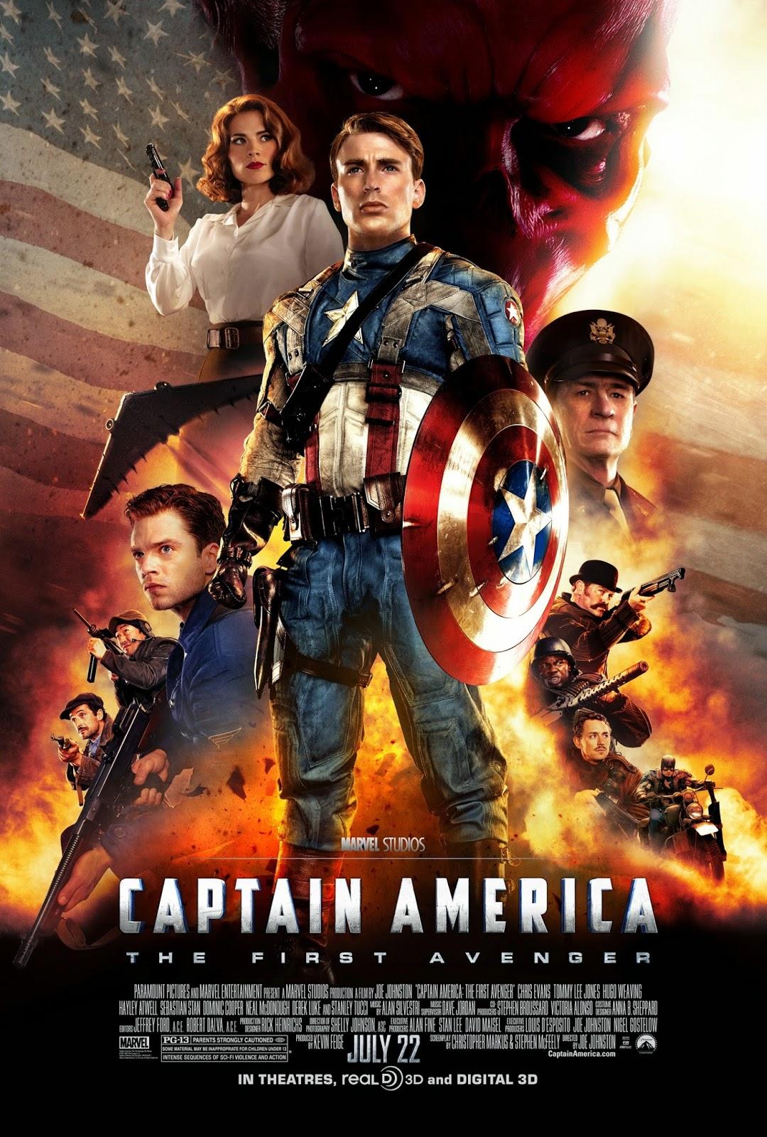 Capitão América: O Primeiro Vingador Dublado