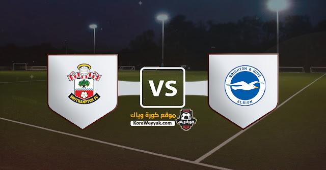 نتيجة مباراة برايتون وساوثهامتون اليوم الاثنين 7 ديسمبر 2020 في الدوري الانجليزي