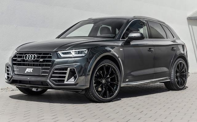 Audi Q5 Híbrido chega a 425 cv com preparação da ABT