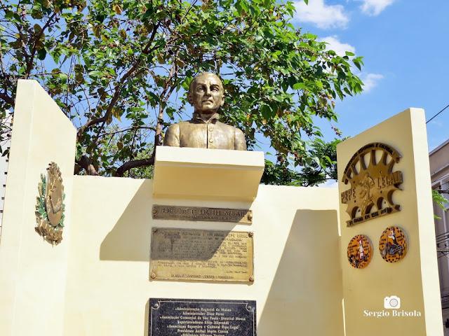 Vista do Busto do Padre José de Anchieta - Mooca - São Paulo