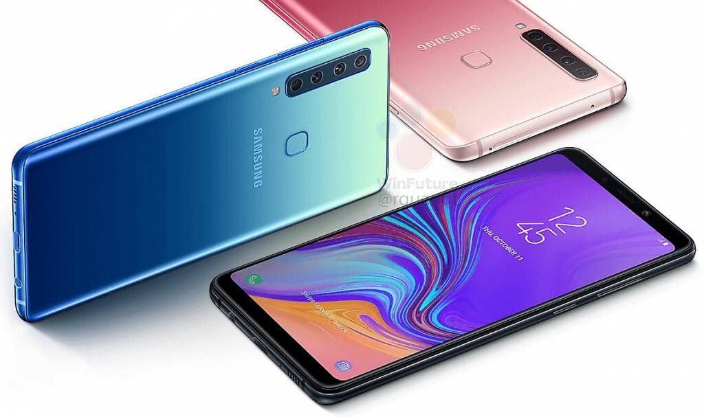 Samsung A9 Smartphone Pertama Miliki 4 Kamera!