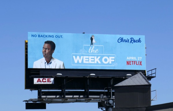 Chris Rock Week Of movie billboard