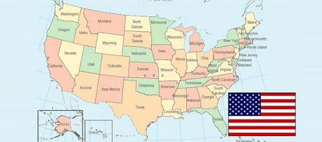 negara-negara bagian amerka serikat