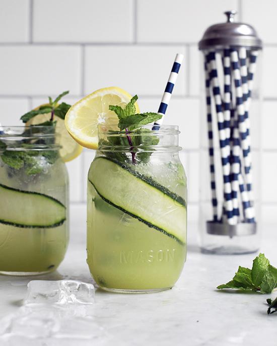 Cucumber Lemonade Recipe #recipe #cucumber