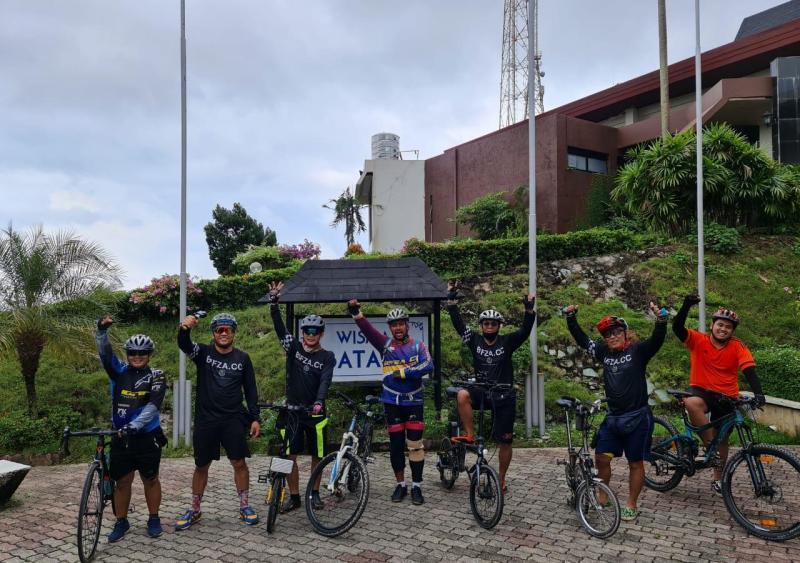 Anggota Bidang Pengusahaan BP Batam Tinjau Waduk Sei Harapan dan Agrowisata Marina dengan Bersepeda