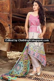 Ayesha Chottani Latest Eid Dresses 2015