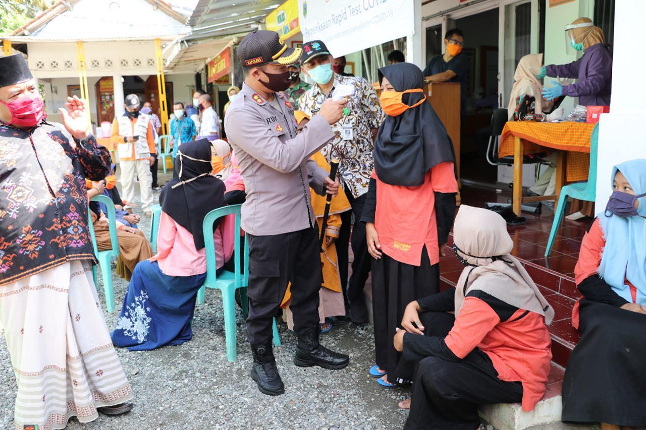 135 Anak Panti Asuhan Queen Latifa Adimulyo Jalani Rapid Test