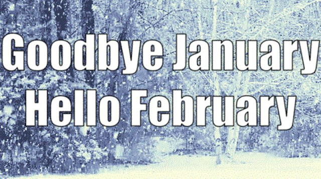 'Thought & Humor': Goodbye January - Hello February!