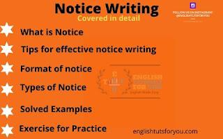 Notice Writing
