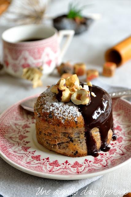 Cakes ricotta-noisette d'Ottolenghi & Helen Goh / sweet