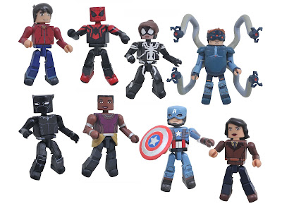 Walgreens Exclusive Marvel Animated Universe Minimates Series 11 by Diamond Select Toys