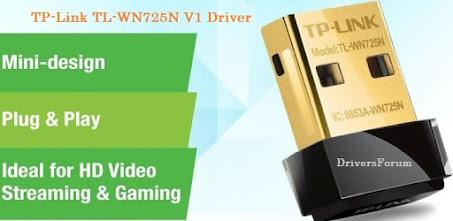 TP-Link TL-WN725n Driver v1 Windows 10