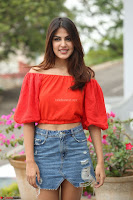Rhea Chakraborty in Red Crop Top and Denim Shorts Spicy Pics ~  Exclusive 259.JPG
