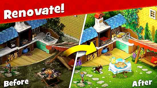 Gardenscapes Mod Apk Unlimited