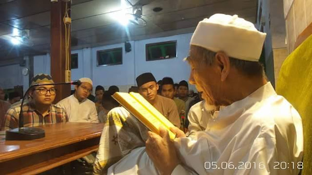 Sanad keilmuan Santri al-Anwar hingga Rasulullah SAW