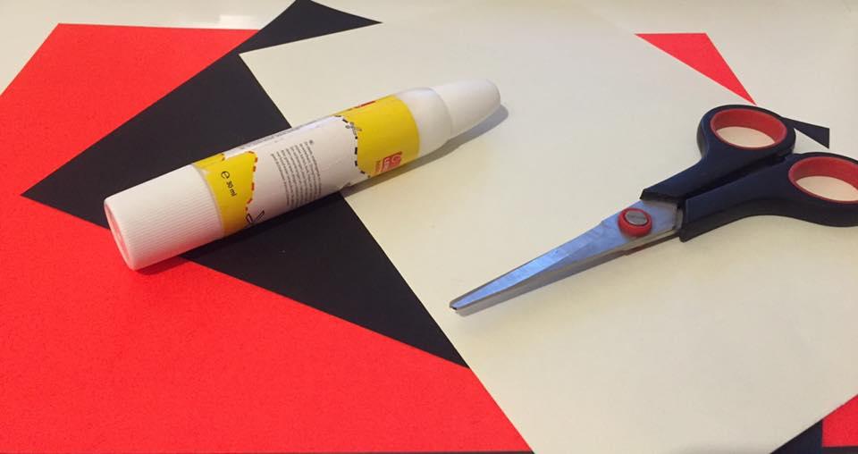 Afbeeldingsresultaat voor knutselen met papier schaar en lijm